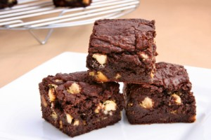 Carob Chip Brownies