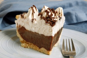 Chocolate Meringue Pie - Free baking recipes from StarBakers.com